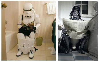 Star wars toilet humour
