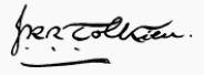 Tolkien Signature