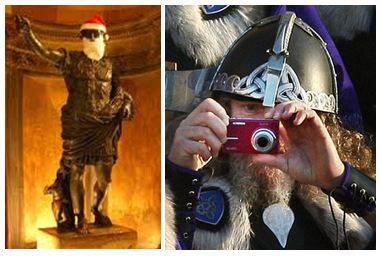 Santa Caesar & Viking Camera
