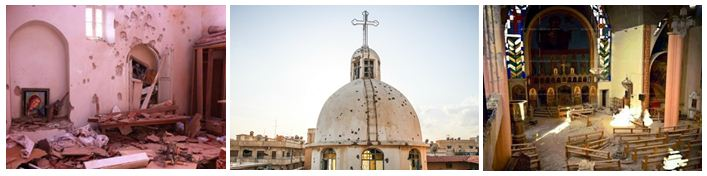 Syria Destroyed Churches