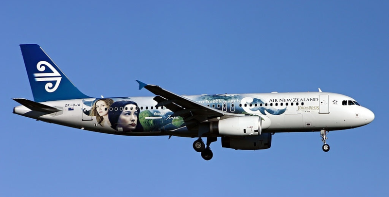 Air New Zealand Lord of the Rings