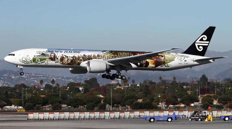 Air New Zealand Hobbit
