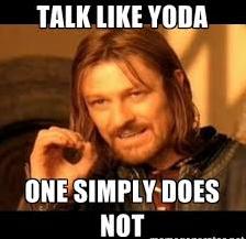 Yoda Boromir Meme