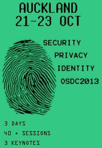 OSDC NZ 2013