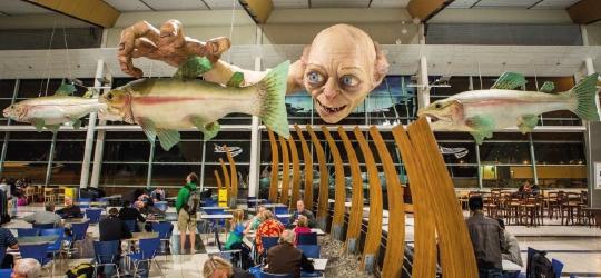 Welington Airport Gollum