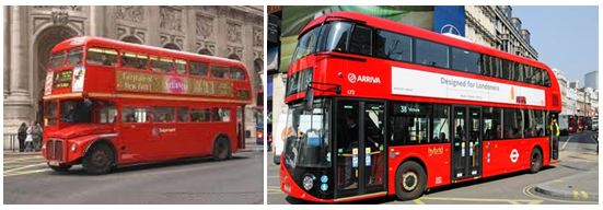 Double Decker Buses London