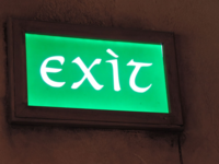 Exit in Middle Earth Font