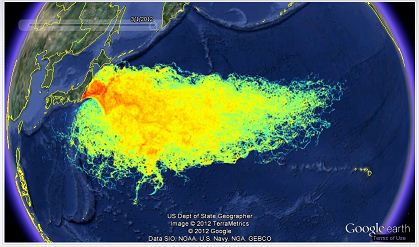 Fukushima Radiation Spread