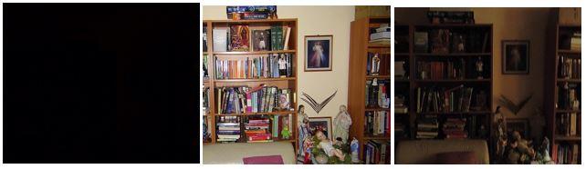 Bookshelf Three Shots