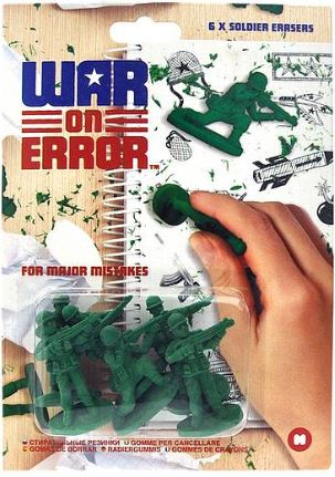 Green Soldier Erasers 2