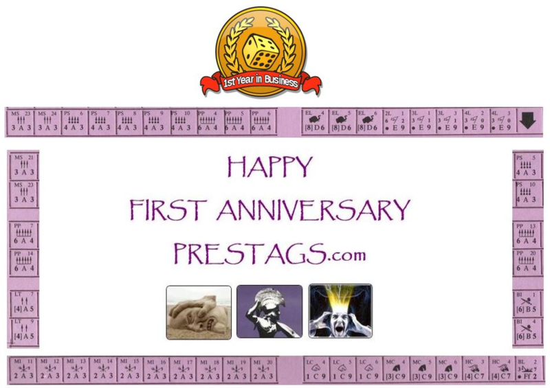 Happy Anniversary PRESTAGS