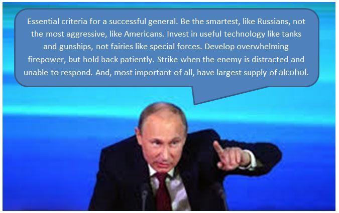 Putin's Advice for Boys Weekend
