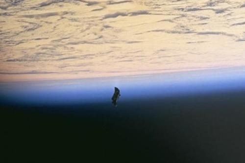 Unexplained Orbital Craft 1