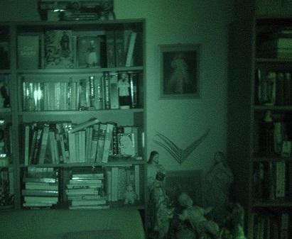 Bookshelf Infrared