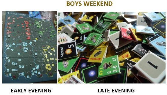 Boys Weekend Space Empires