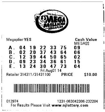 PRESTAGS Lottery Ticket