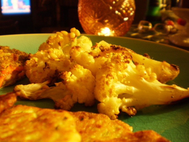 Roast CauliFlower and Pine Nuts