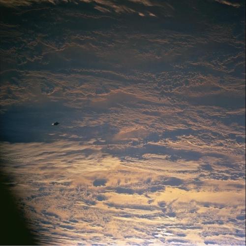 Unexplained Orbital Craft 4