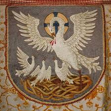 Pelican symbol of the church 2