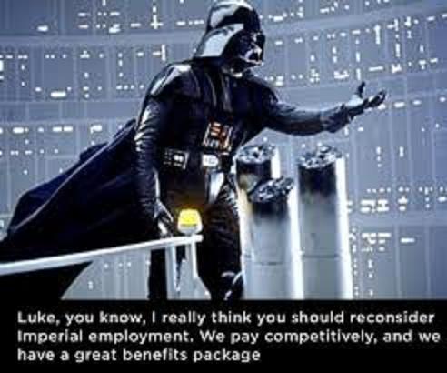 Work Sux star wars