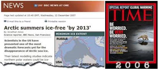 Global Warming Media Lies