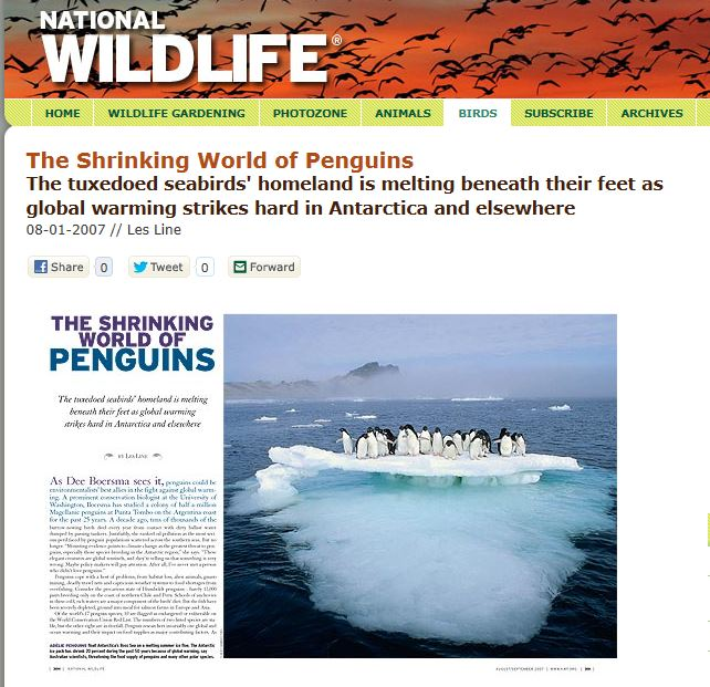 Shrinking World of Penguins