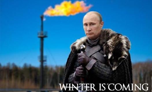 Putin is coming