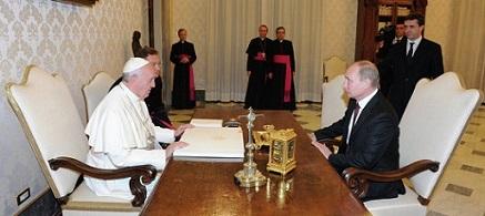 Putin and Pope