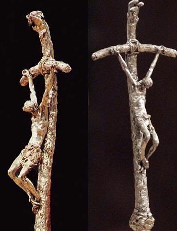 Broken cross scorzelli