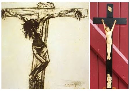 Condemned Servaes Cross and Jansenist Crucifix