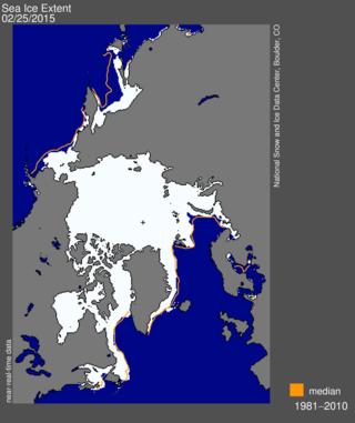 Maximum ice extent