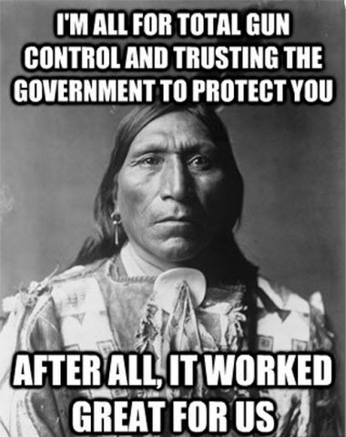 Sitting Bull on Gun Control