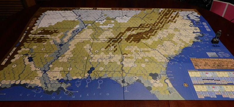 The US Civil War Map