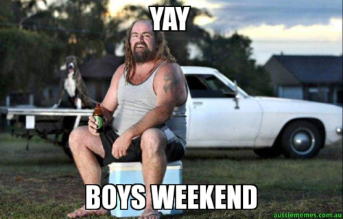 Yay-boys-weekend