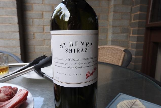 St Henri Shiraz 2001
