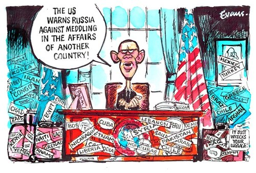 United States Meddling