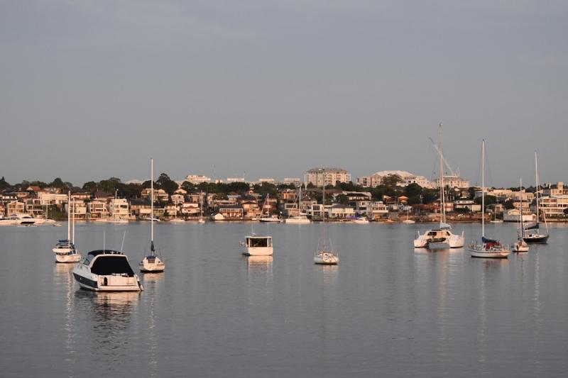 Dawn Over Canada Bay (Sydney)