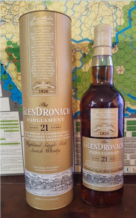 GlenDronach Parliament 21 Years Single Malt Whiskey