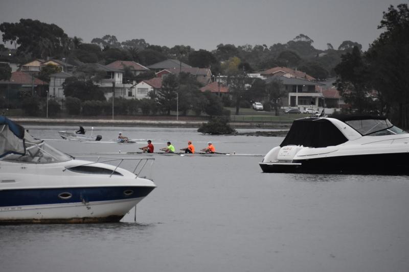 Rowers in Fluros