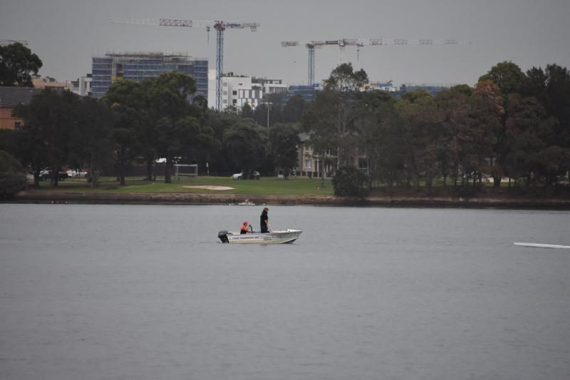 Fisherman in Boat Nikkor 18-300 at 300mm