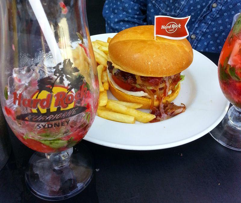 Hard Rock Burger