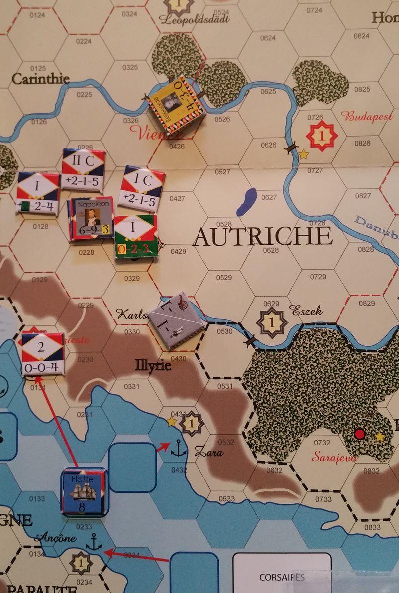 Napoleon advances on Vienna