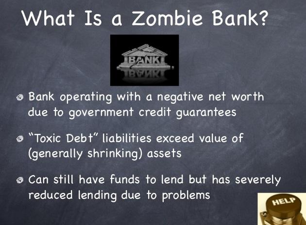 Zombie-banks