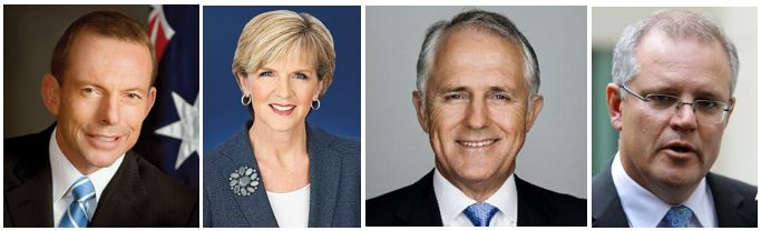 Liberal Party Leadership Contenders