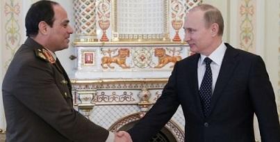 Putin and egypt