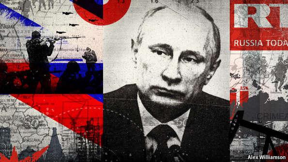 Putin at war