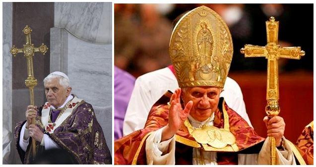 Benedict XVI Papal Ferula