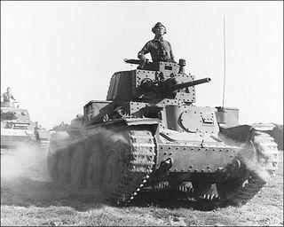 Rommel tank