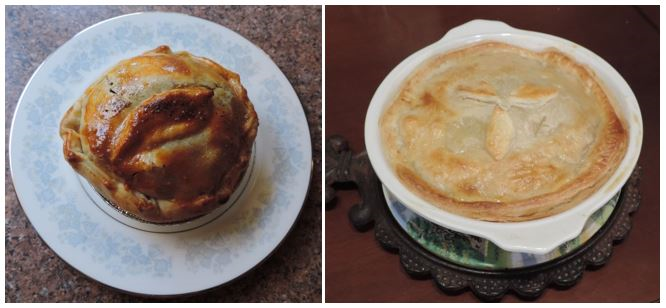 Meat Pie and Chicken Pie on Pi Day