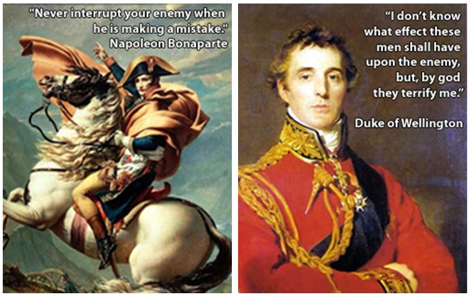 Napoleon Wellington